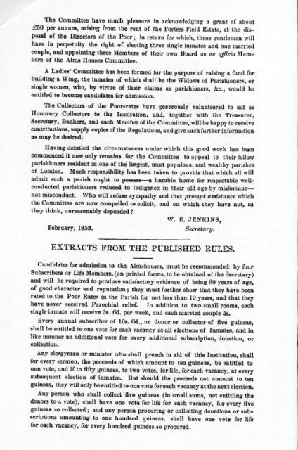 First Report 1853 Page 3A